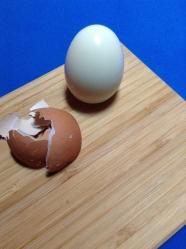 6 pelar huevo