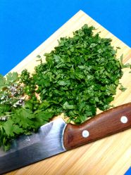 9 picar cilantro