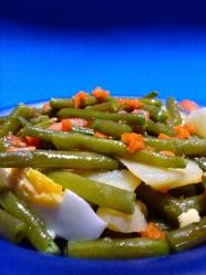 ensalada de judias verdess