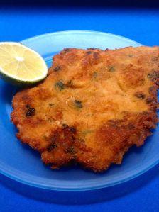 milanesas de pollo a la provenzal