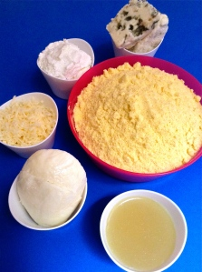 pupusas de quesos ingr