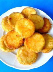 san jacobos de calabacin, jamón y queso