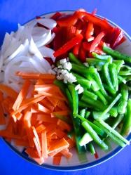 3 cortar verduras