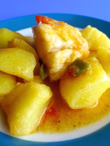 patatas con bacalaoo