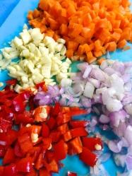 10 picar verduras