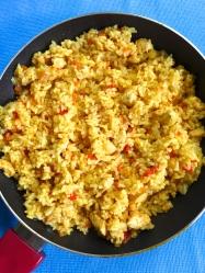 16 freir arroz