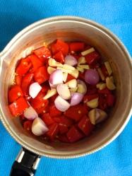 3 añadir cebolla y ajo