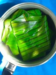 1 blanquear hojas