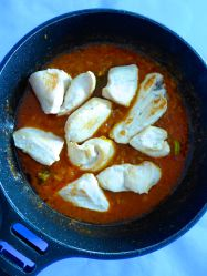 10 añadir pollo