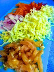 4 picar verduras y pescado