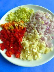 9 picar verduras