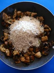 13 añadir arroz