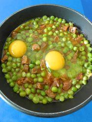 14 añadir huevos