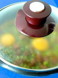 15 escalfar huevos