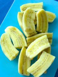 2 cortar bananas