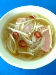 24 añadir sopa