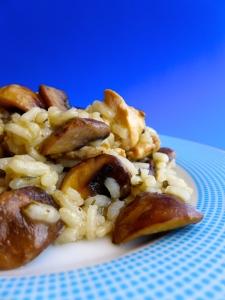 arroz con pollo y champiñonesss