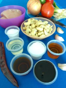 kai phat met mamuang himmaphan - salteado de pollo con anacardos ingr