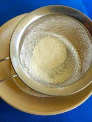 12 tamizar harina y sal