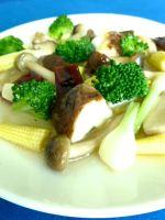 verduras salteadas con salsa de ostrasss