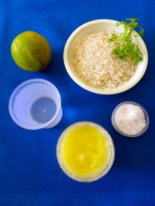 basmati con lima y cilantro ingr