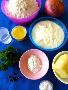 naan cebolla perejil pimienta queso ingr